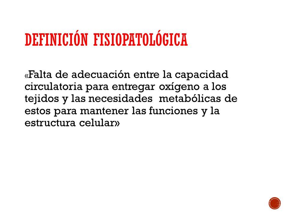 Definición fisiopatológica
