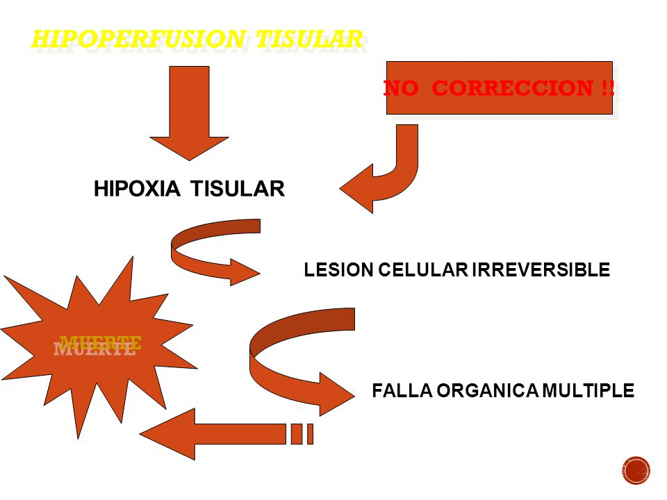HIPOPERFUSION TISULAR