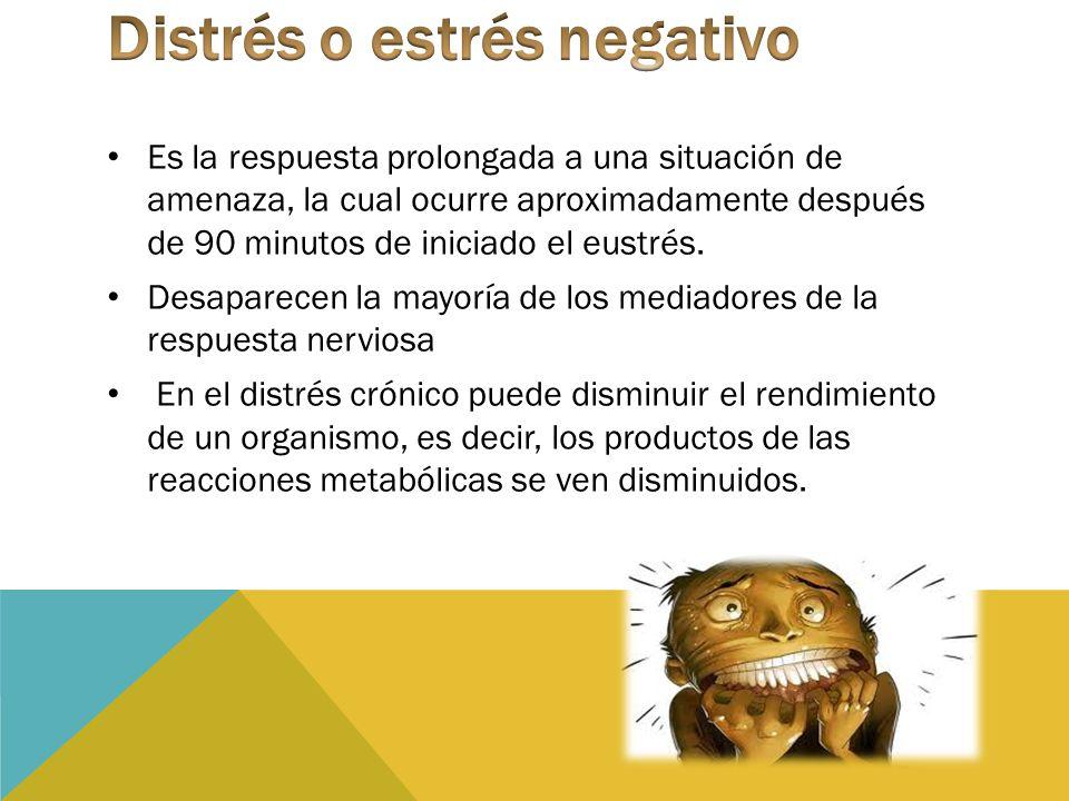 Distrés o estrés negativo