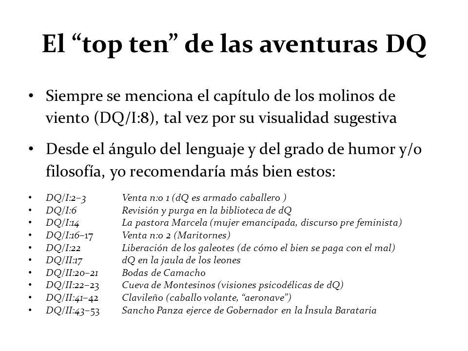 El top ten de las aventuras DQ