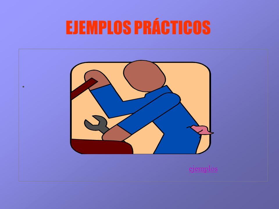 EJEMPLOS PRÁCTICOS . ejemplos