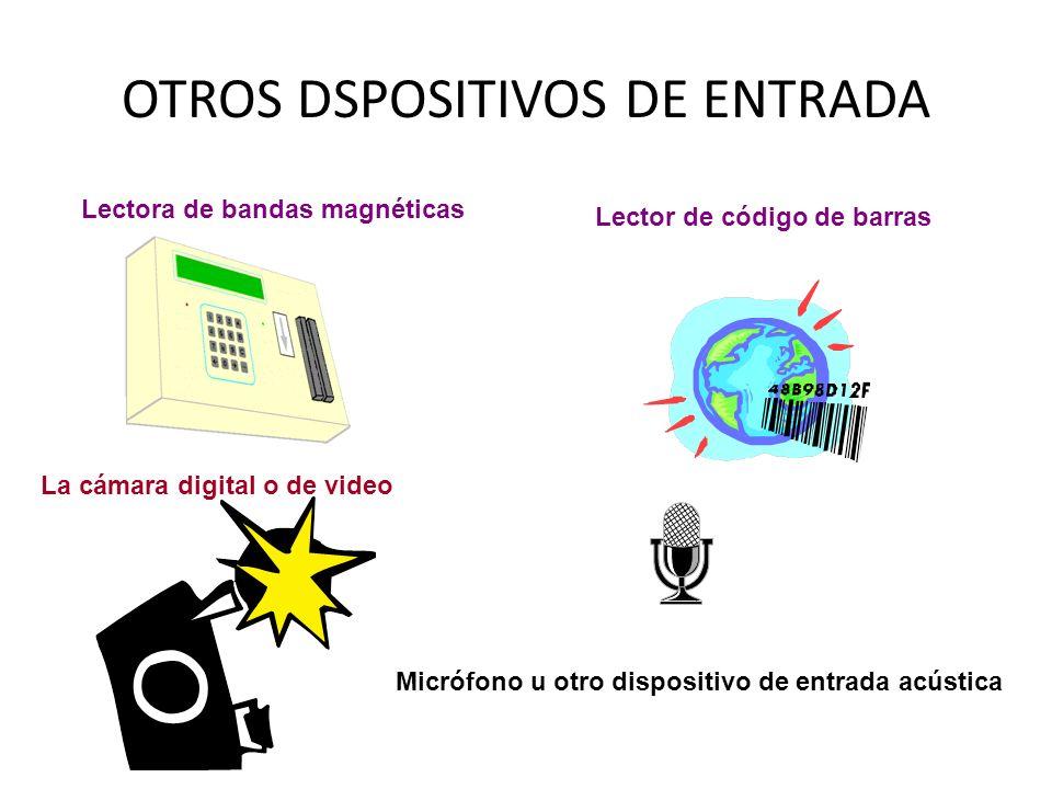OTROS DSPOSITIVOS DE ENTRADA