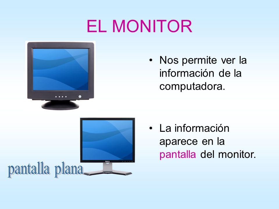 EL MONITOR pantalla plana
