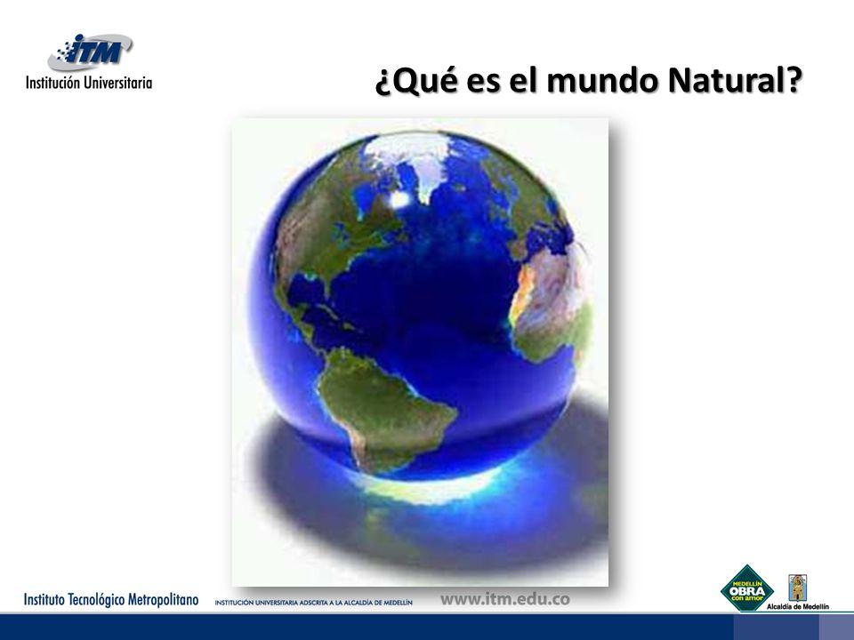 ¿Qué es el mundo Natural