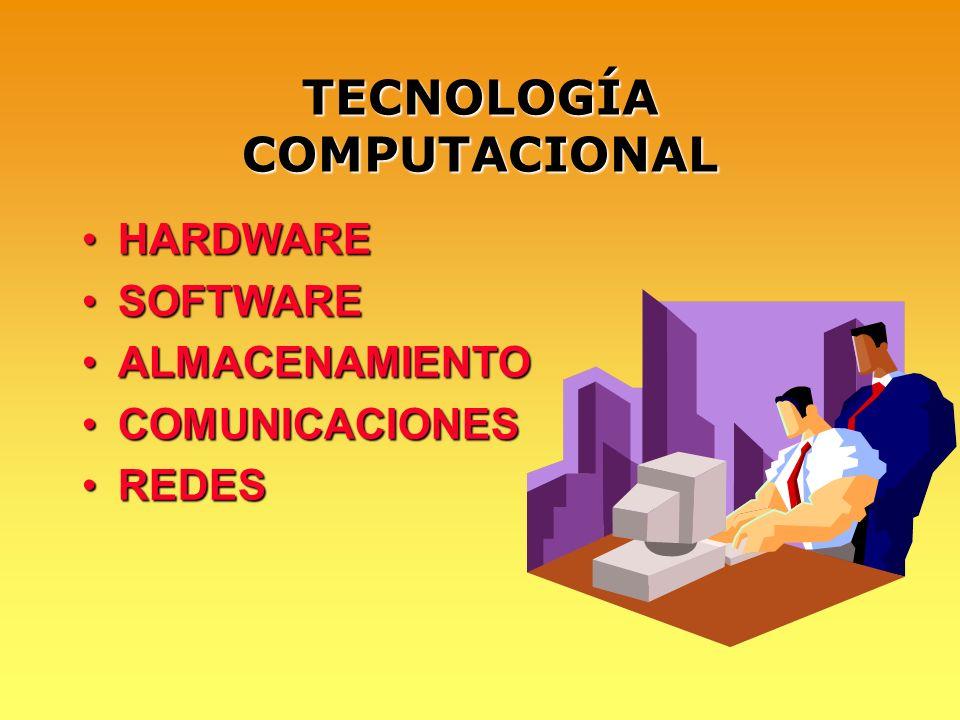 TECNOLOGÍA COMPUTACIONAL