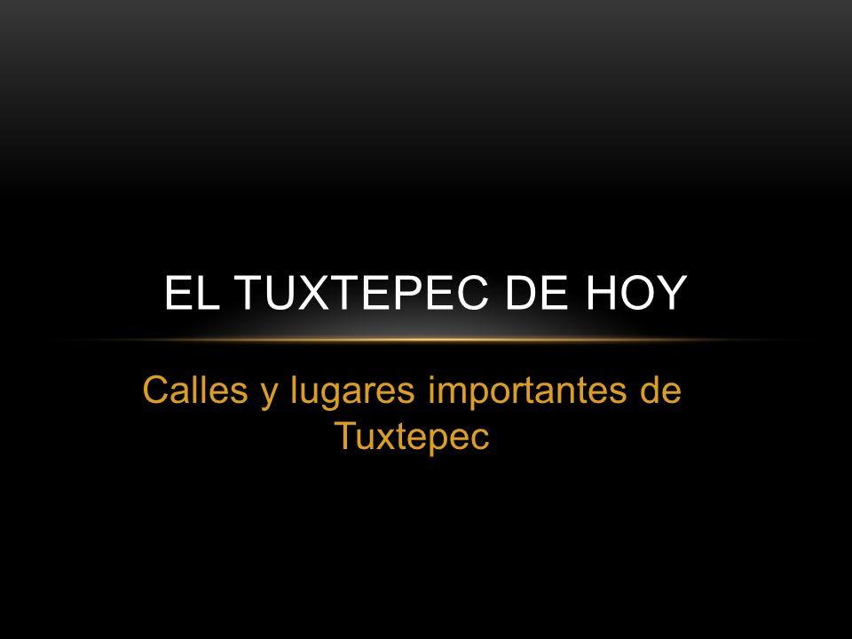 Calles y lugares importantes de Tuxtepec