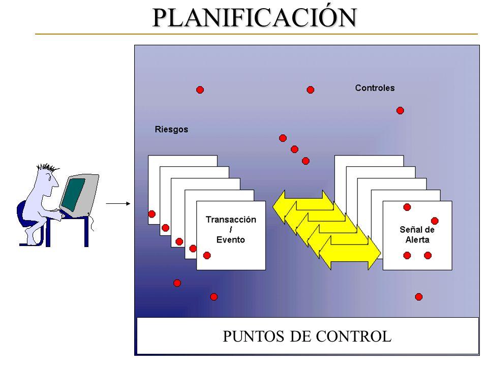 PLANIFICACIÓN PUNTOS DE CONTROL