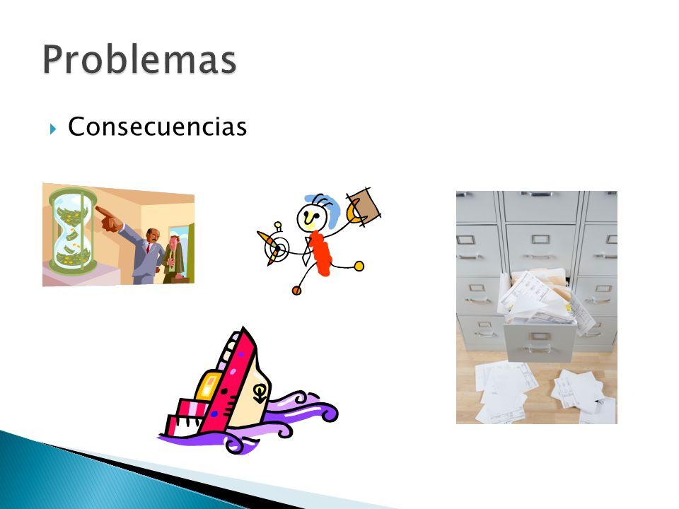 Problemas Consecuencias