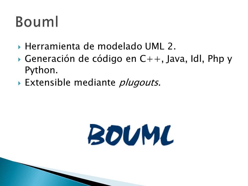 Bouml Herramienta de modelado UML 2.