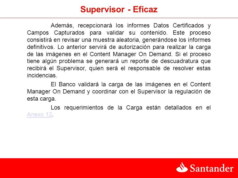 Supervisor - Eficaz