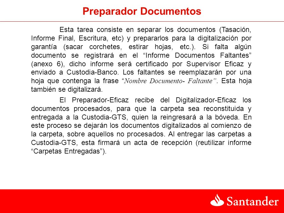 Preparador Documentos