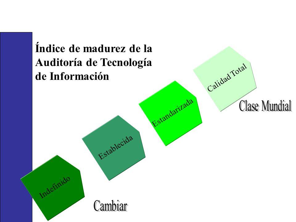 Índice de madurez de la Auditoría de Tecnología de Información