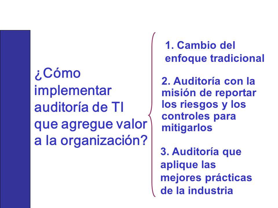 ¿Cómo implementar auditoría de TI que agregue valor a la organización