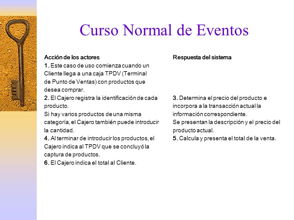 Curso Normal de Eventos