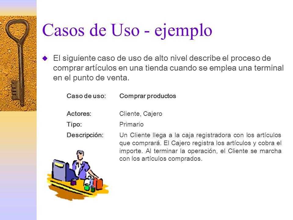 Casos de Uso - ejemplo