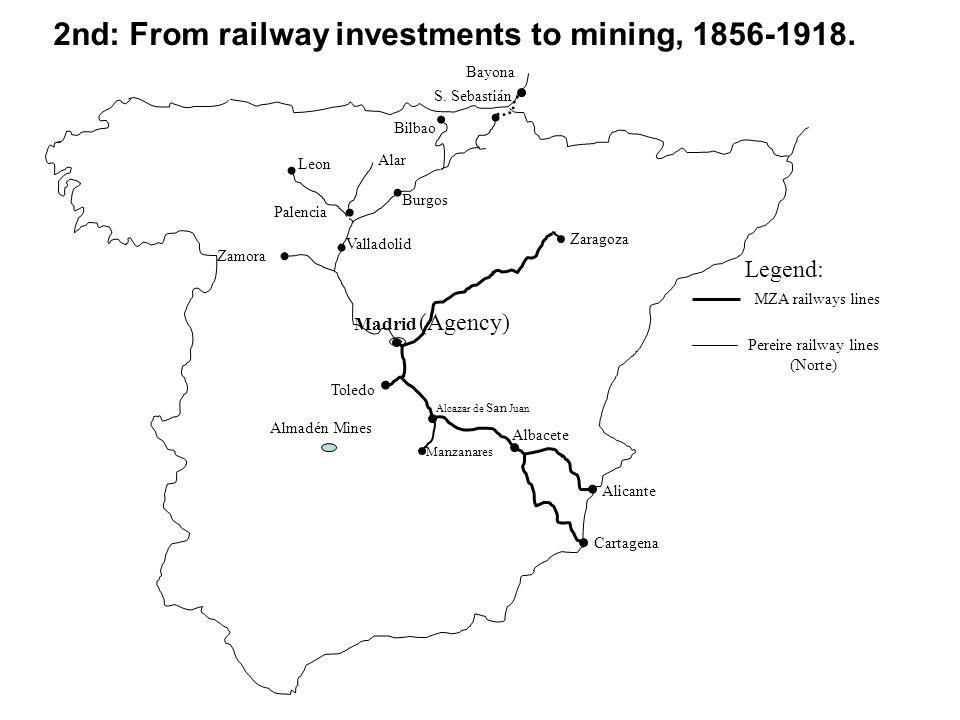 2nd: From railway investments to mining, 1856-1918.
