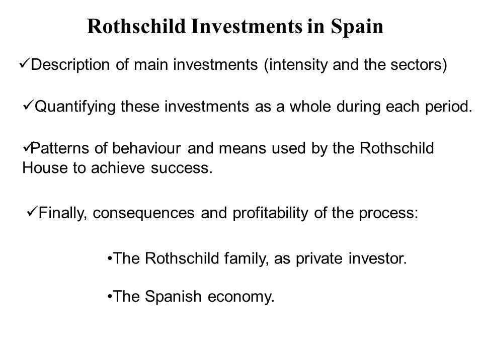 Rothschild Investments in Spain