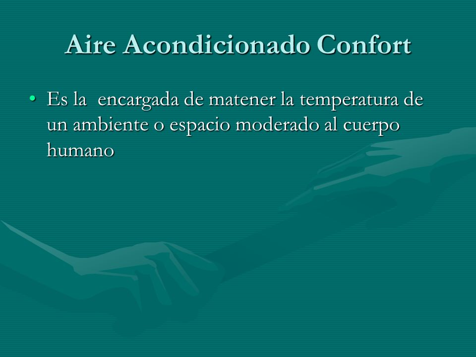 Aire Acondicionado Confort