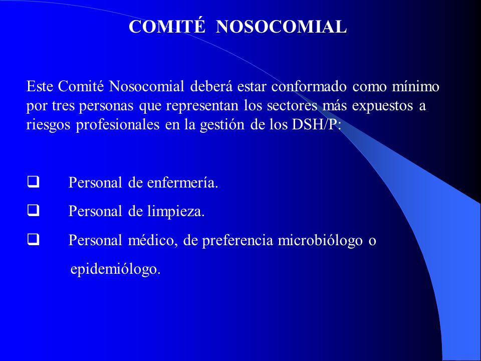 COMITÉ NOSOCOMIAL