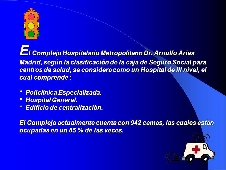 El Complejo Hospitalario Metropolitano Dr