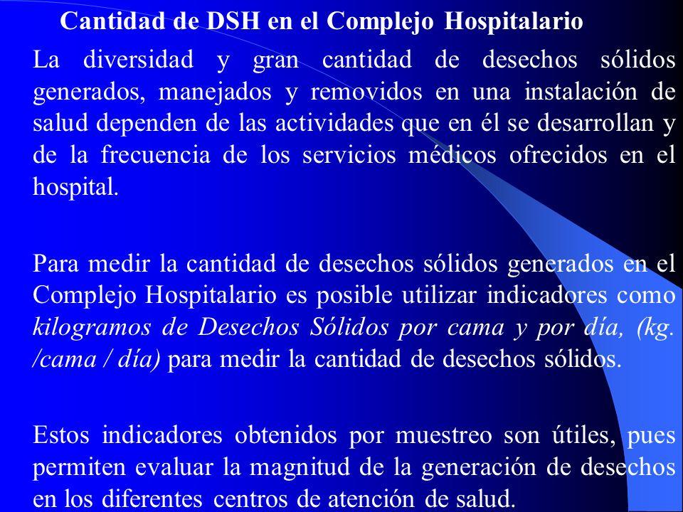 Cantidad de DSH en el Complejo Hospitalario