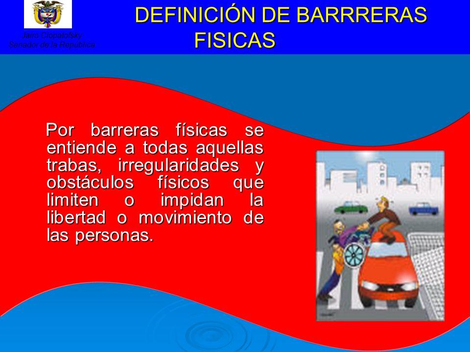 DEFINICIÓN DE BARRRERAS FISICAS