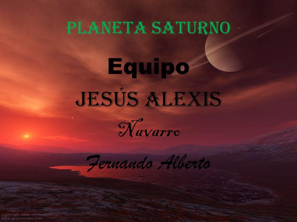 Equipo Jesús Alexis Navarro Fernando Alberto
