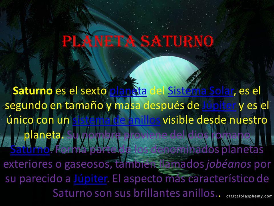 planeta Saturno