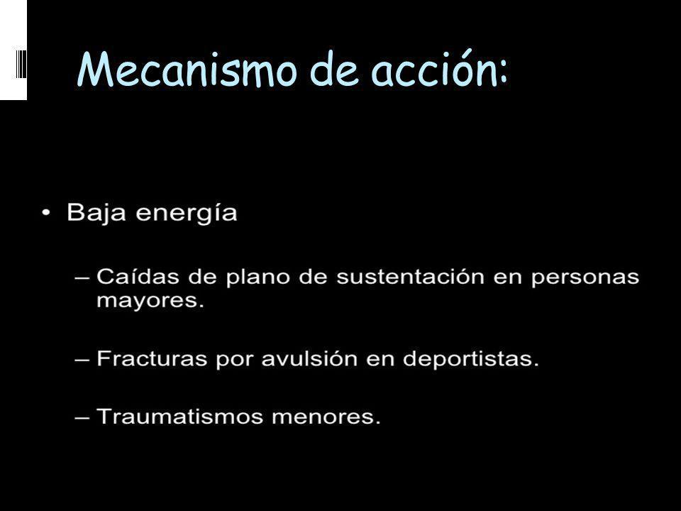 Mecanismo de acción: Sociedad Paraguaya de Trauma - Abril 2009
