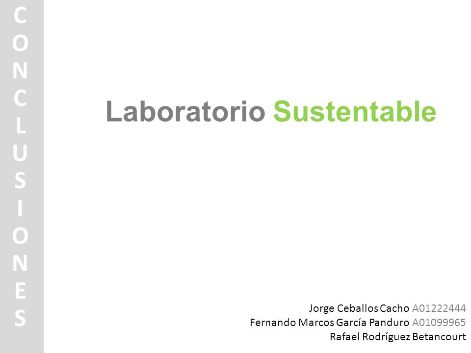 Laboratorio Sustentable