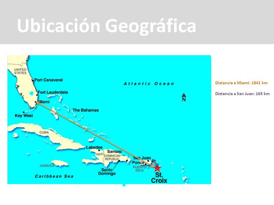 Ubicación Geográfica Distancia a Miami: 1841 km