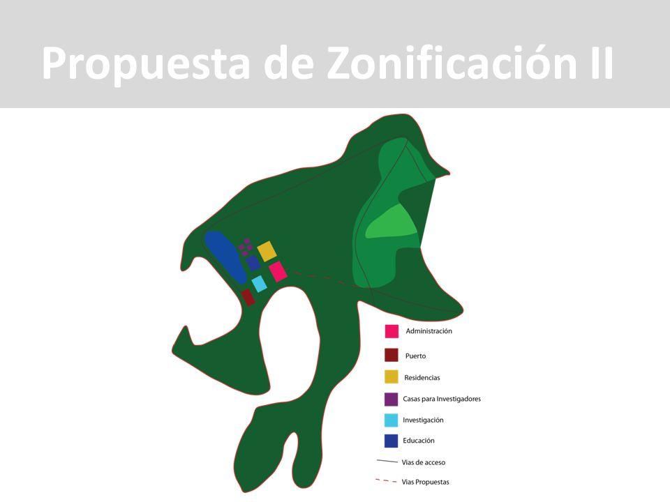 Propuesta de Zonificación II