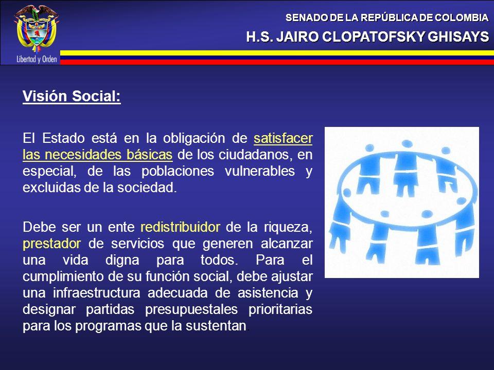 Visión Social: H.S. JAIRO CLOPATOFSKY GHISAYS