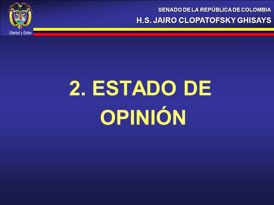 2. ESTADO DE OPINIÓN H.S. JAIRO CLOPATOFSKY GHISAYS