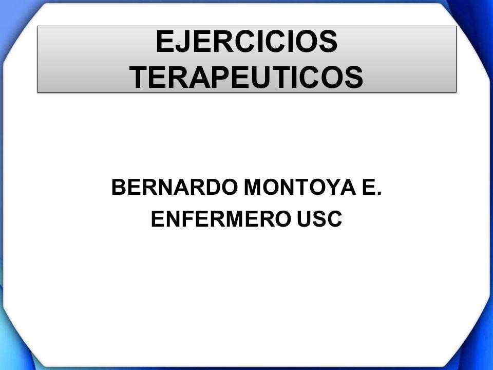 EJERCICIOS TERAPEUTICOS