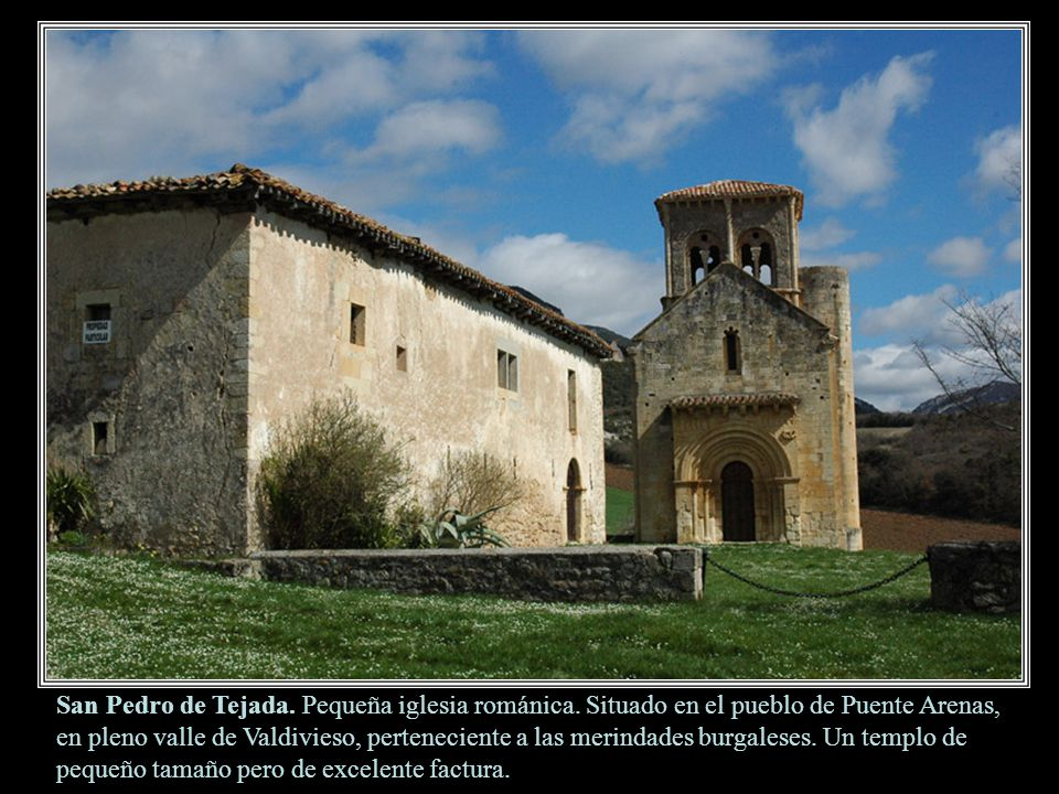 San Pedro de Tejada. Pequeña iglesia románica