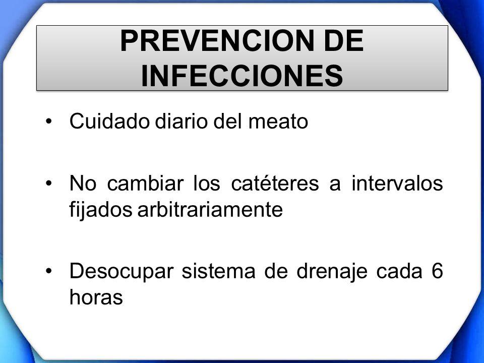 PREVENCION DE INFECCIONES