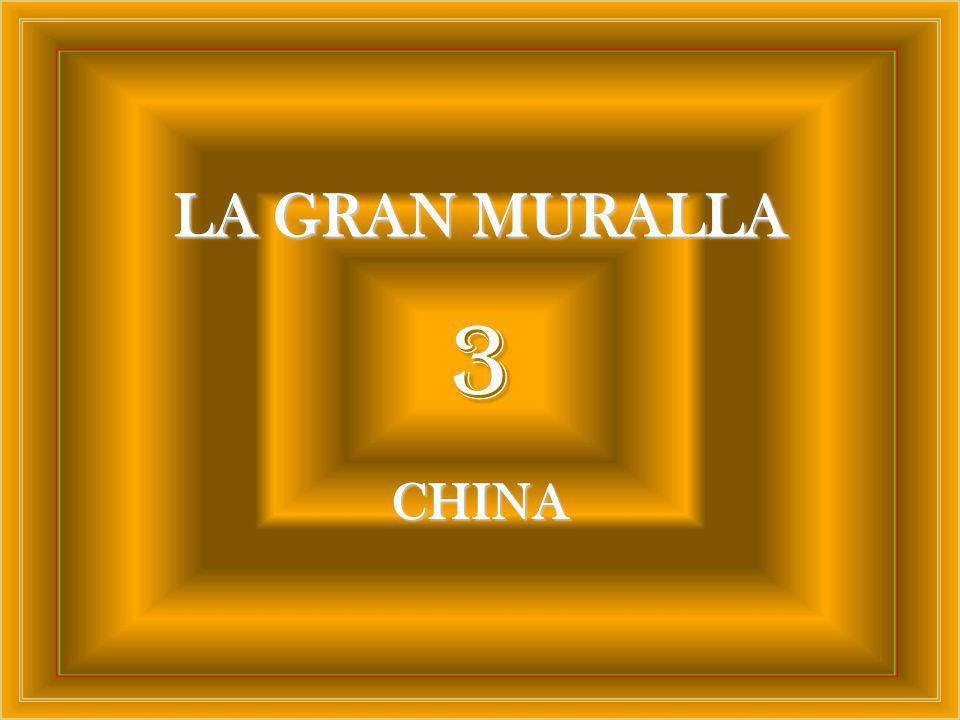 LA GRAN MURALLA 3 CHINA