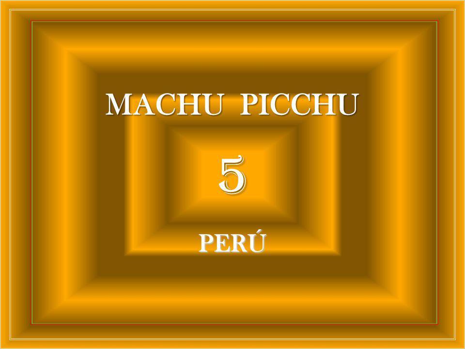 MACHU PICCHU 5 PERÚ