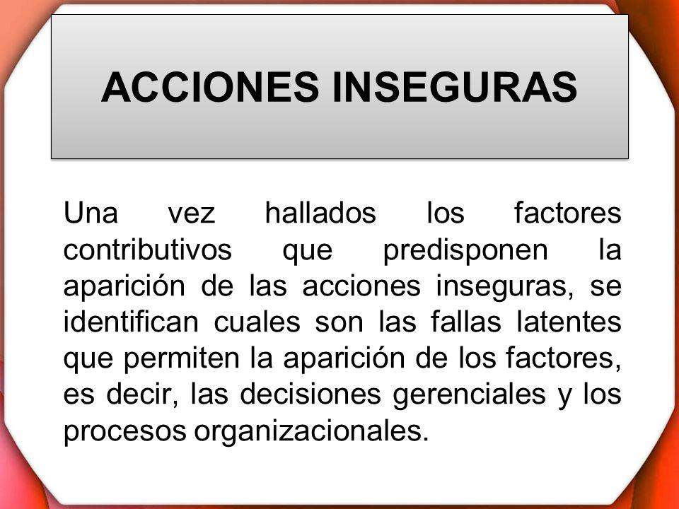 ACCIONES INSEGURAS