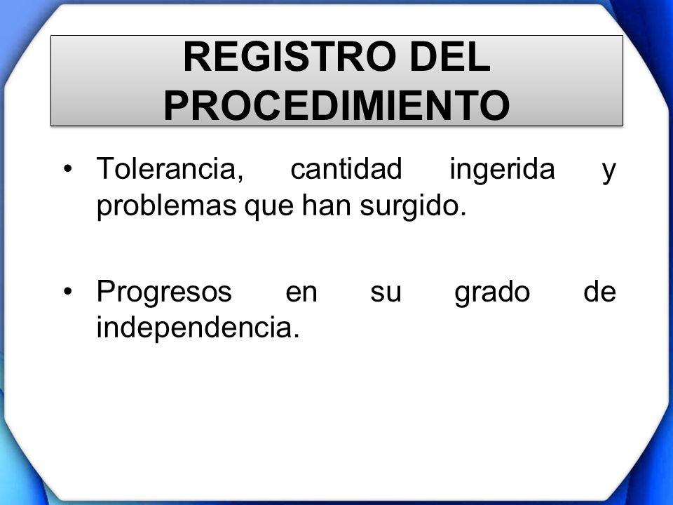 REGISTRO DEL PROCEDIMIENTO
