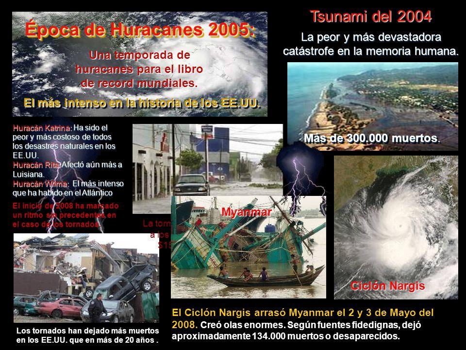Época de Huracanes 2005: Tsunami del 2004