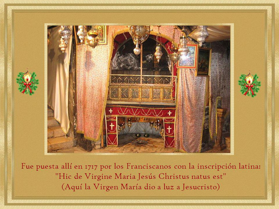 Hic de Virgine Maria Jesús Christus natus est