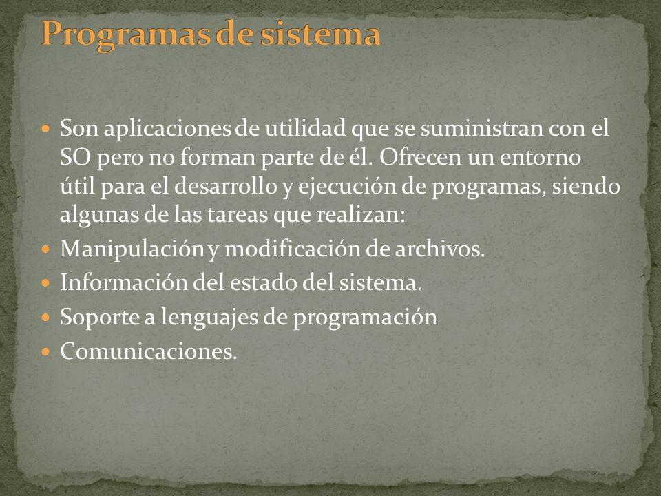 Programas de sistema