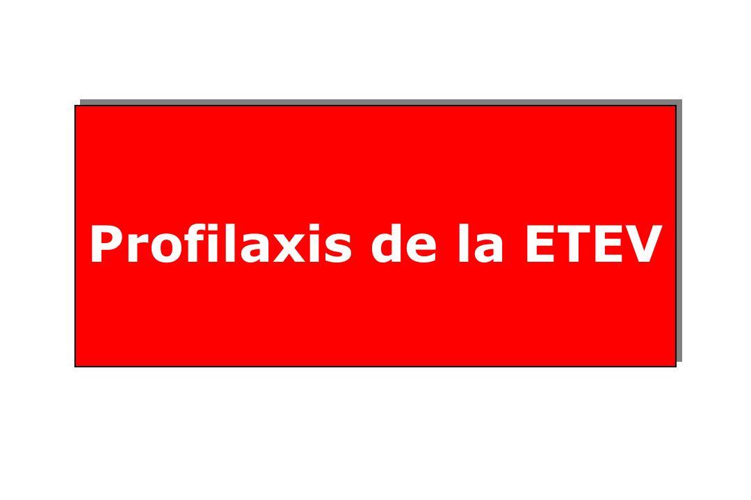 Profilaxis de la ETEV