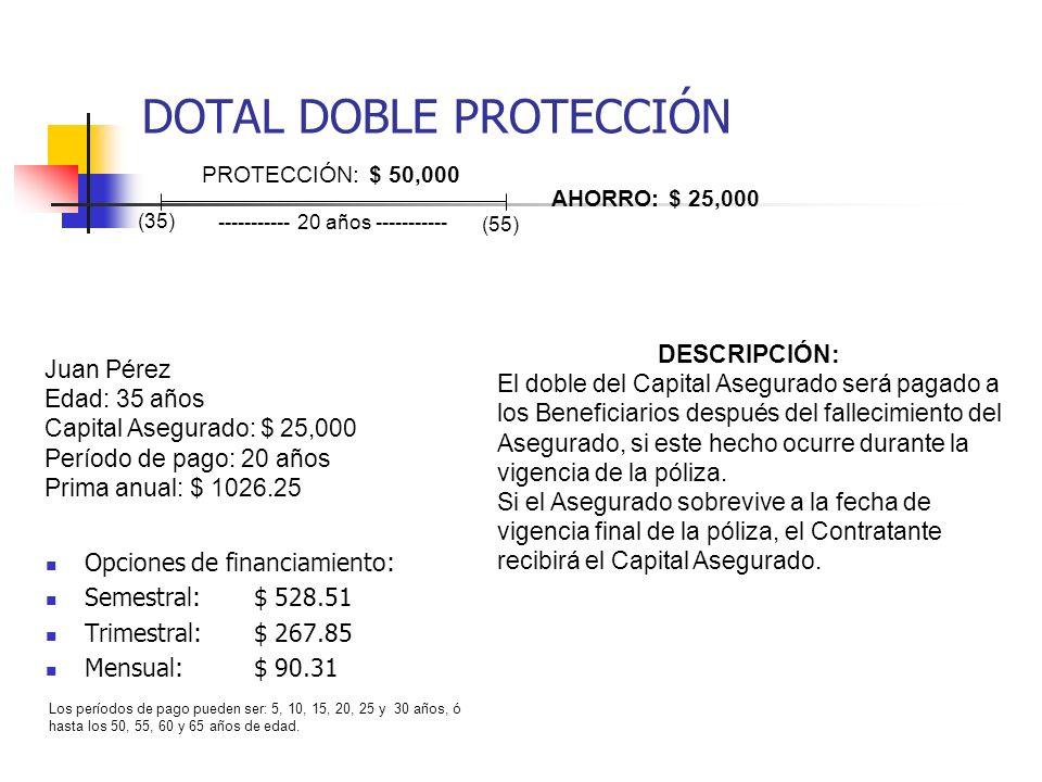 DOTAL DOBLE PROTECCIÓN
