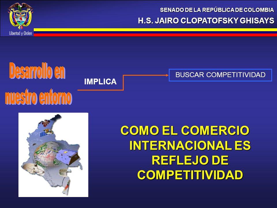 COMO EL COMERCIO INTERNACIONAL ES REFLEJO DE COMPETITIVIDAD