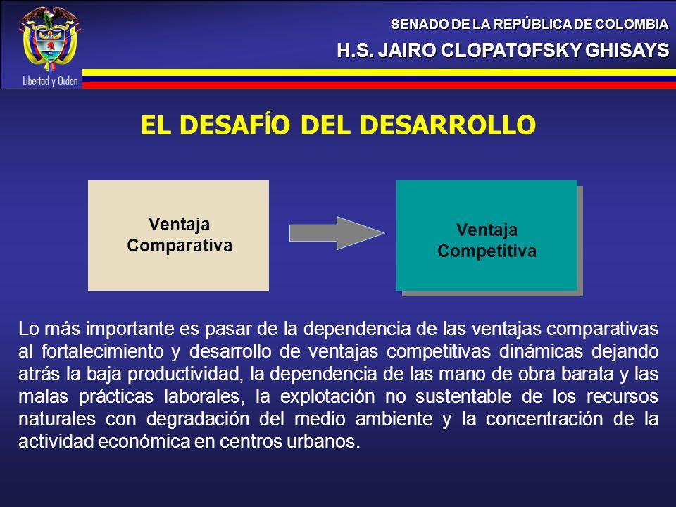 EL DESAFÍO DEL DESARROLLO