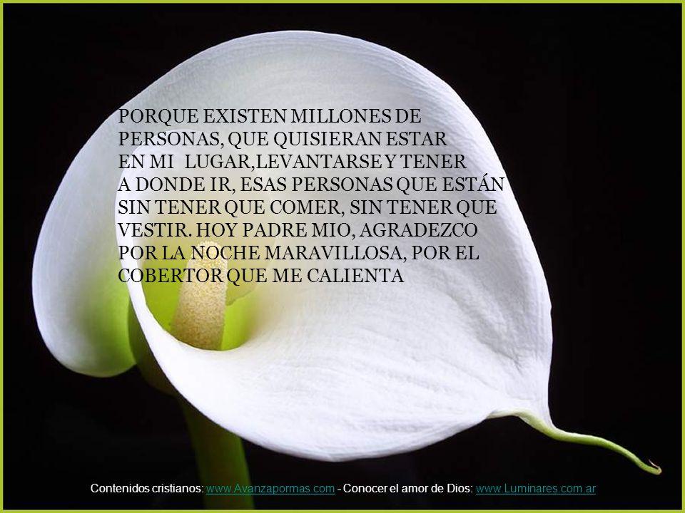 PORQUE EXISTEN MILLONES DE PERSONAS, QUE QUISIERAN ESTAR