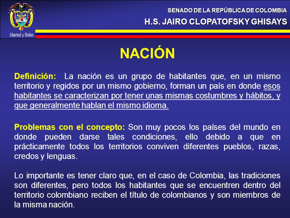 NACIÓN H.S. JAIRO CLOPATOFSKY GHISAYS